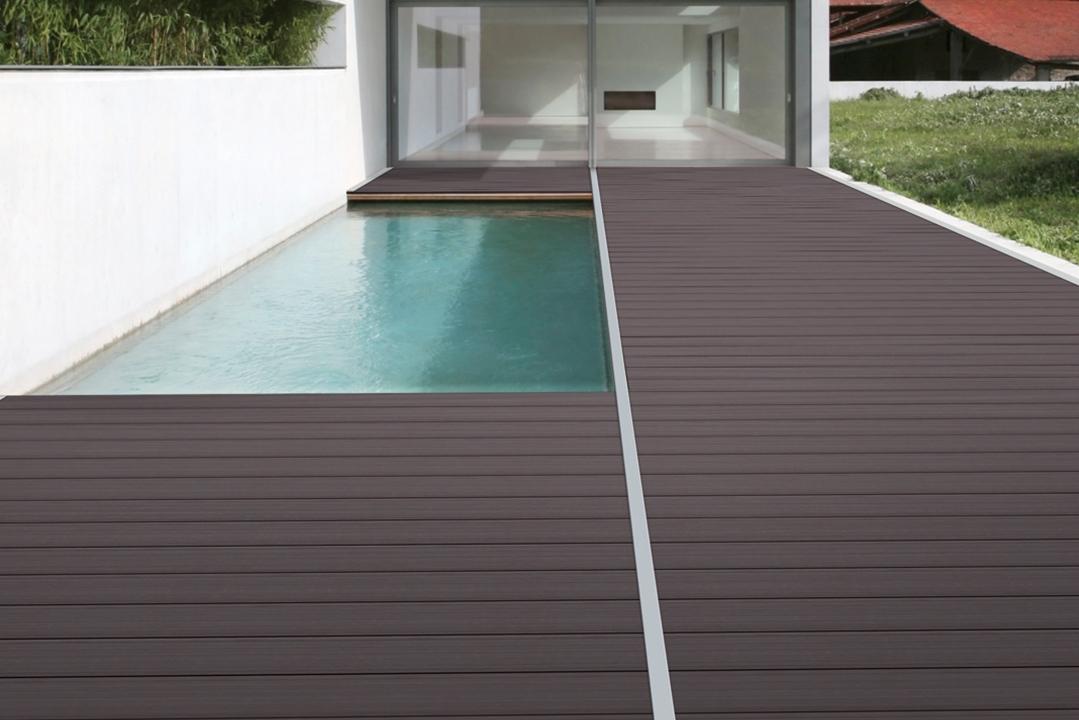 terrasse composite les am nagements ext rieurs. Black Bedroom Furniture Sets. Home Design Ideas