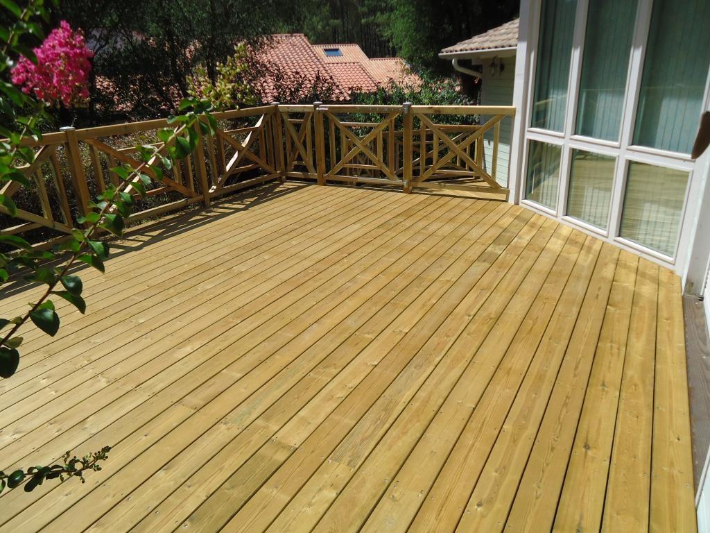 Terrasse us profil kuma am nagements ext rieurs - Epaisseur lambourde terrasse bois ...